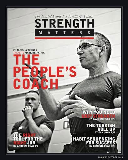 Mark featured on The People's Coach cover