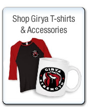 Shop Girya T-shirt and accessories